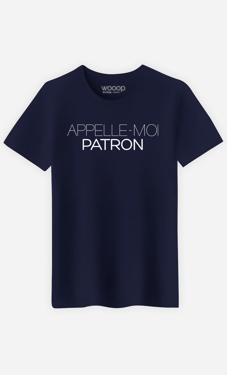 T-Shirt Appelle-Moi Patron