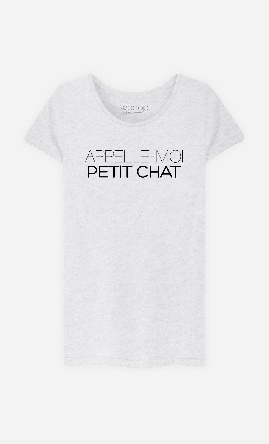 T-Shirt Appelle-Moi Petit Chat