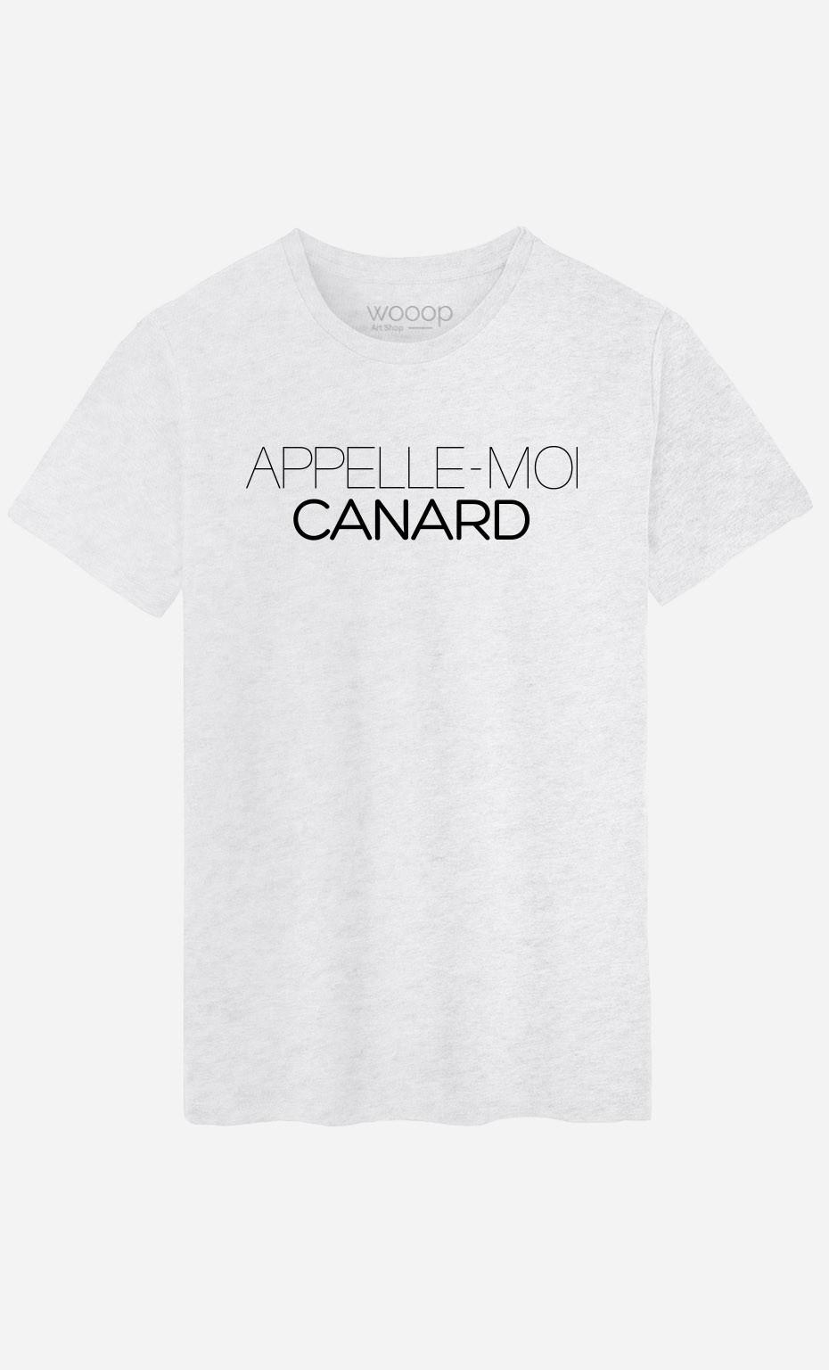 T-Shirt Appelle-Moi Canard