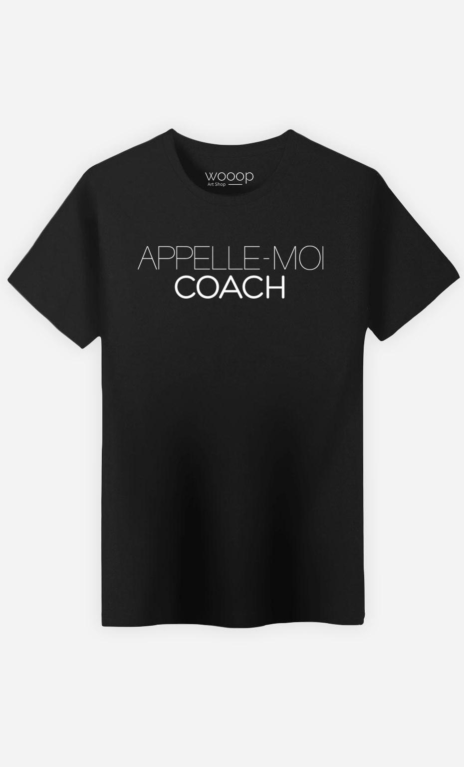 T-Shirt Appelle-Moi Coach