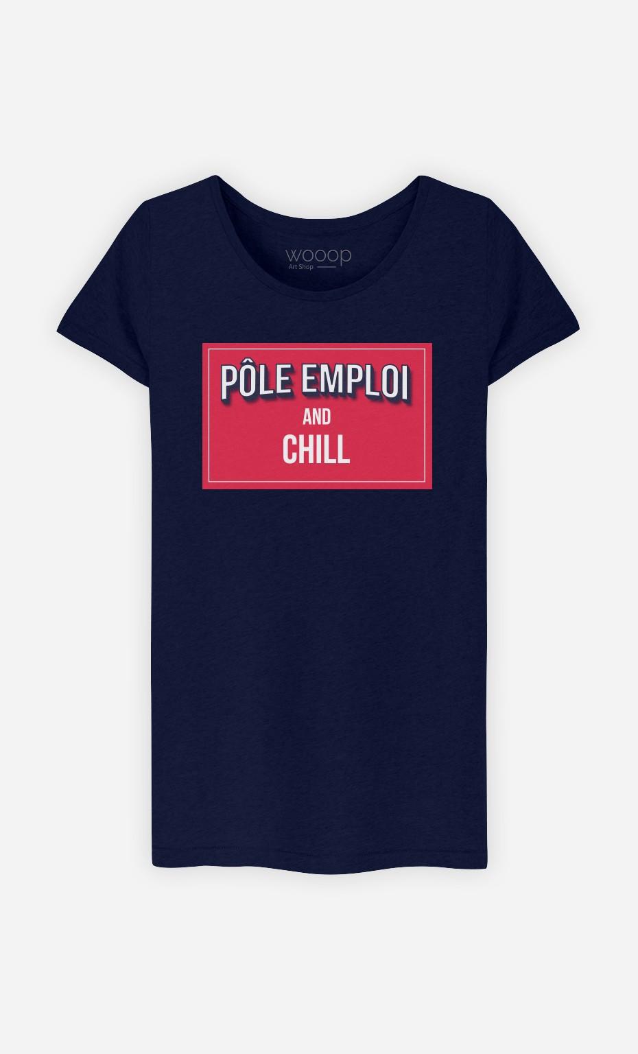 T-Shirt Pôle Emploi & Chill