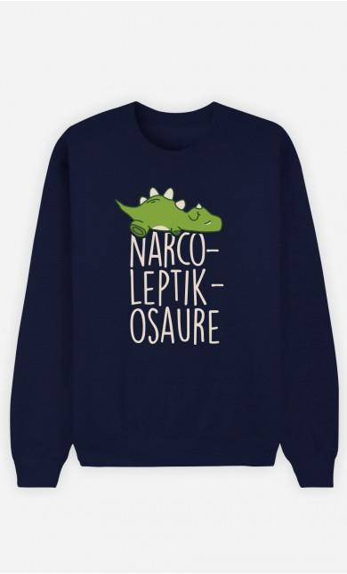 Sweat Bleu Narco Leptik Osaure