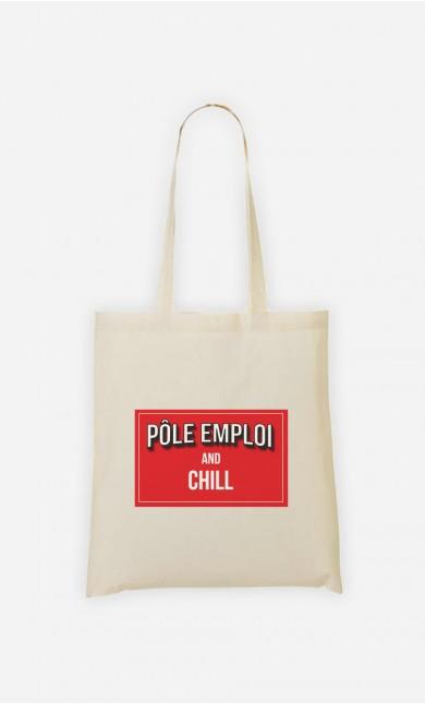 Tote Bag Pôle Emploi & Chill