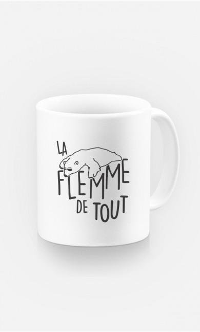 Mug La Flemme de Tout