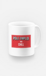 Mug Pôle Emploi & Chill