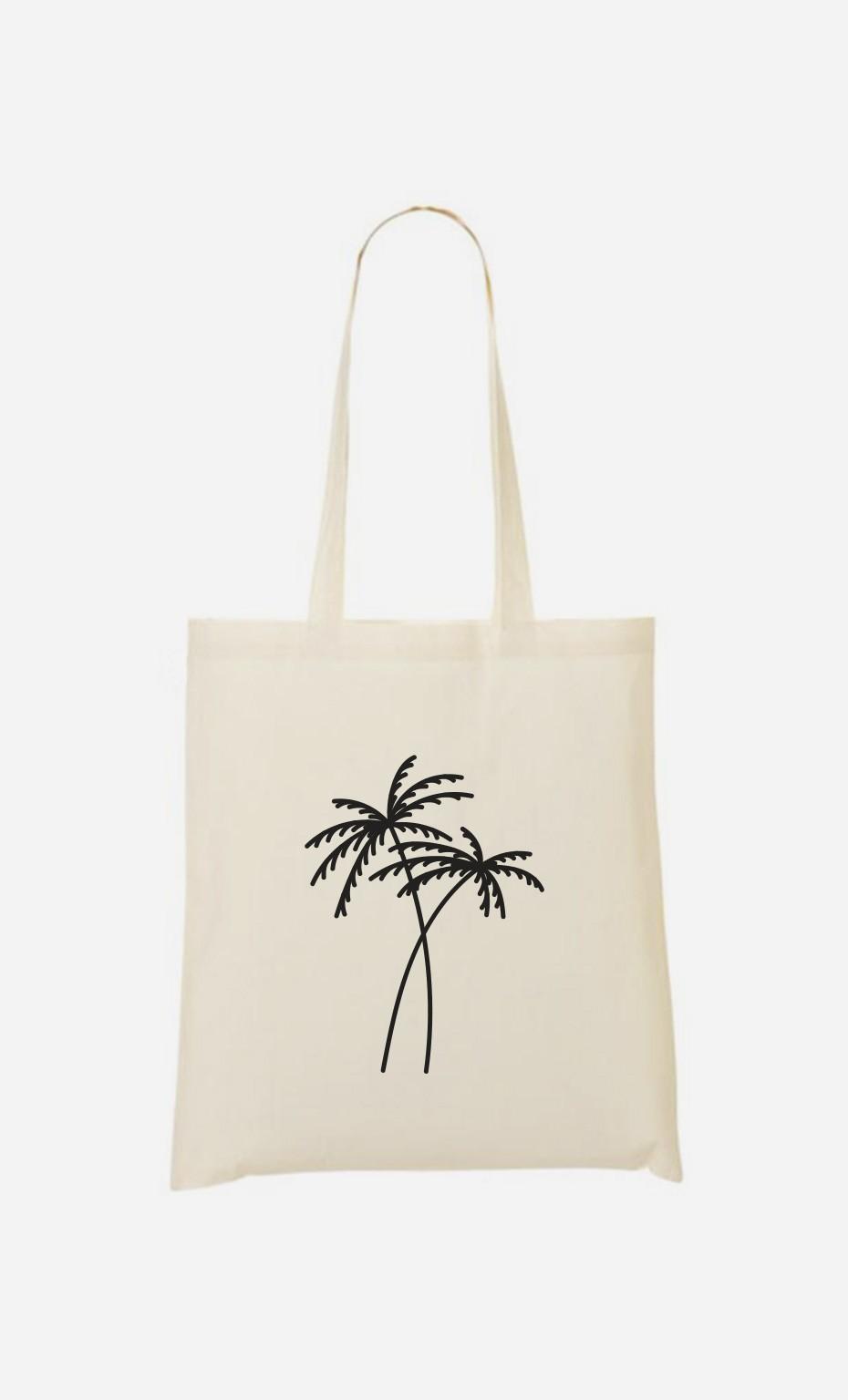 Tote Bag Palmier - brodé
