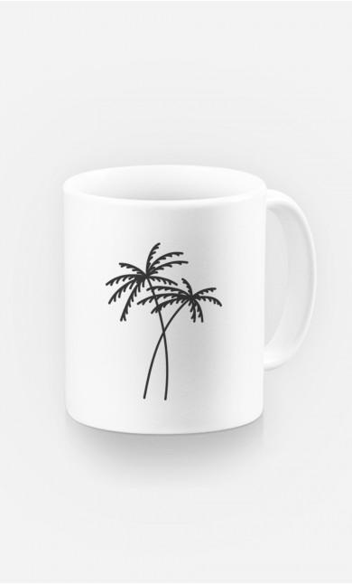 Mug Palmier - brodé