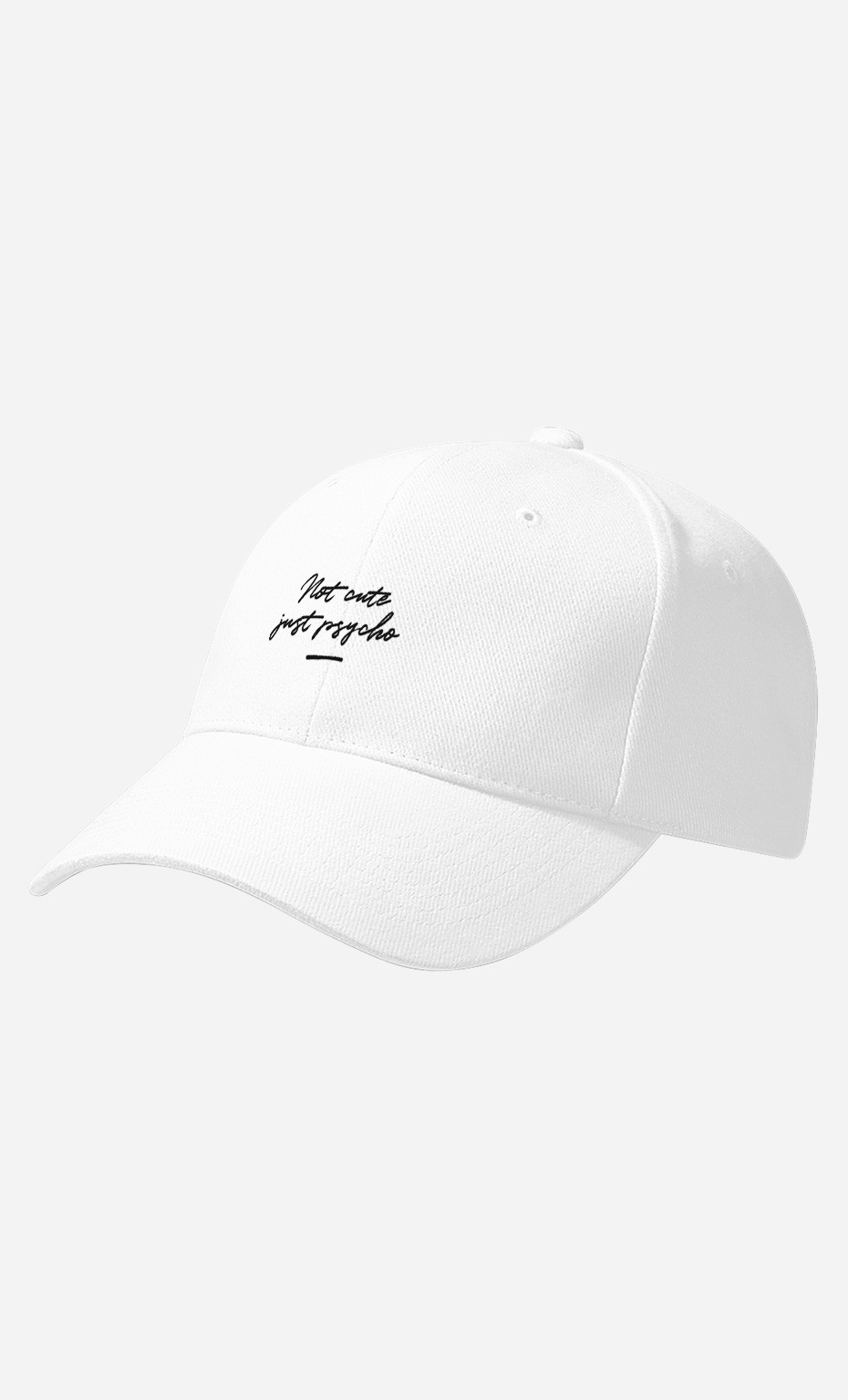 Casquette Not Cute - brodé