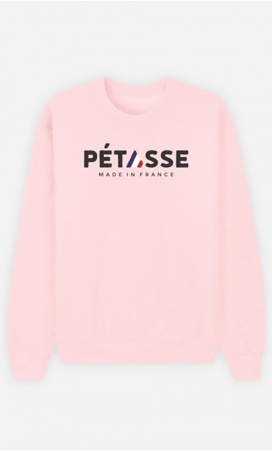 Sweat Rose Pétasse Made in France