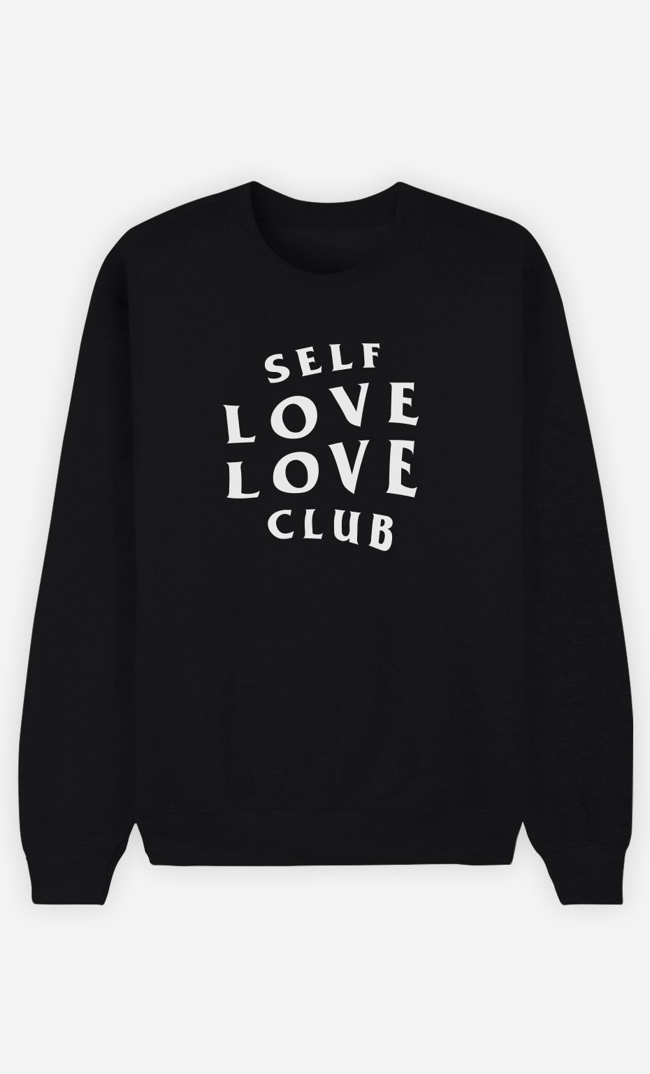 Sweat Noir Self Love Love Club
