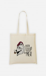 Tote Bag Vieux Loup de Mer