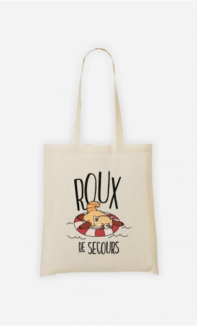 Tote Bag Roux de Secours
