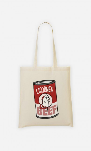 Tote Bag Licorned Beef