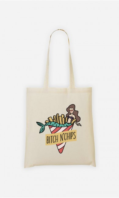 Tote Bag Bitch N'Chips