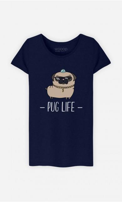 T-Shirt Living the Pug Life