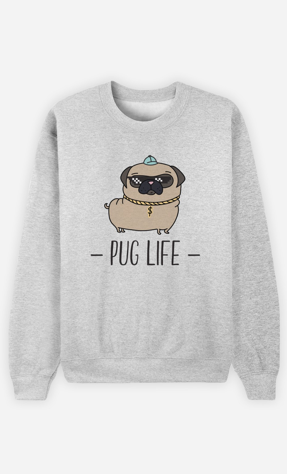 Sweat Living the Pug Life