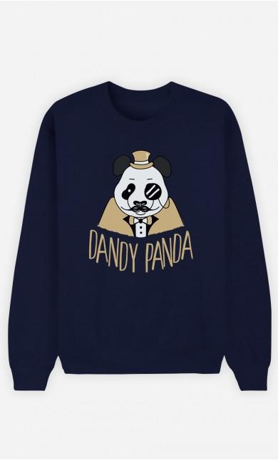 Sweat Bleu Dandy Panda