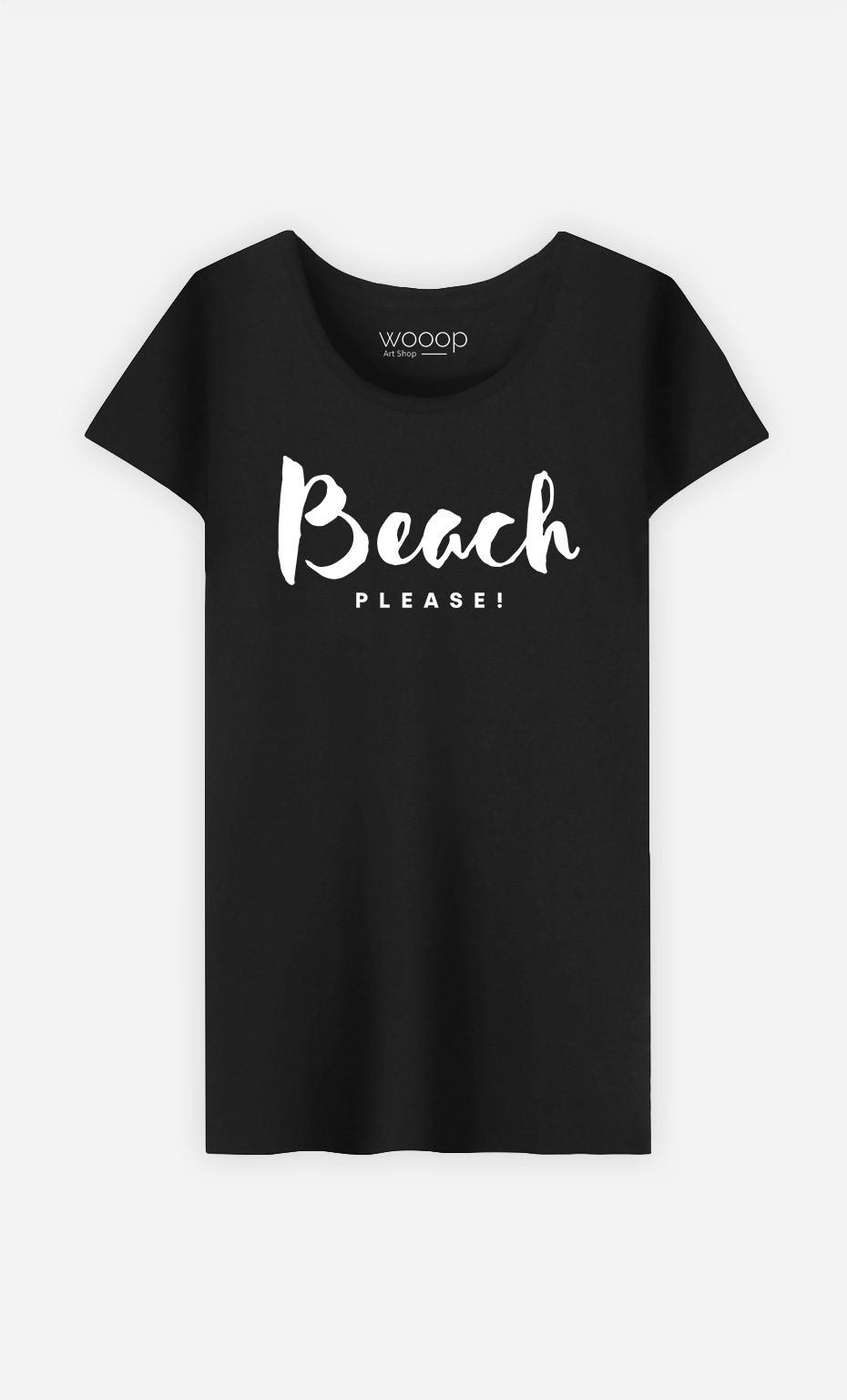 T-Shirt Beach Please