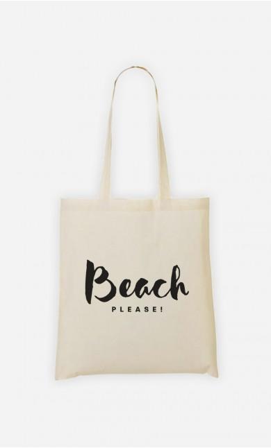 Tote Bag  Beach Please