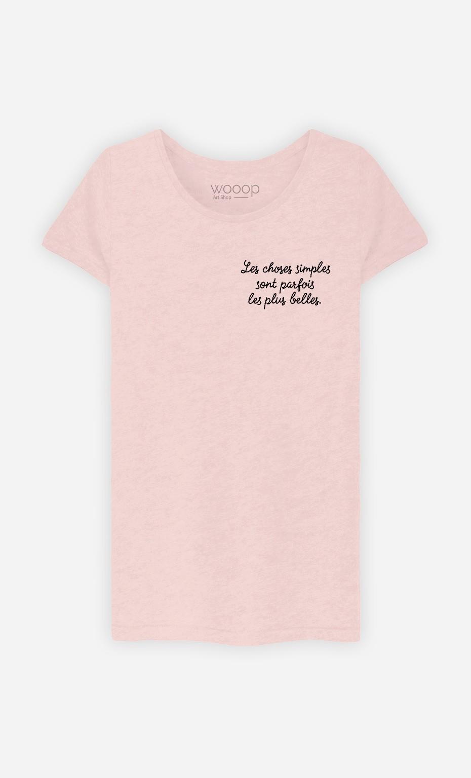 T-Shirt Les Choses Simples