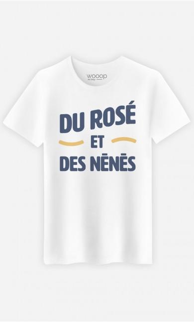 T-Shirt Du Rosé et des Nénés