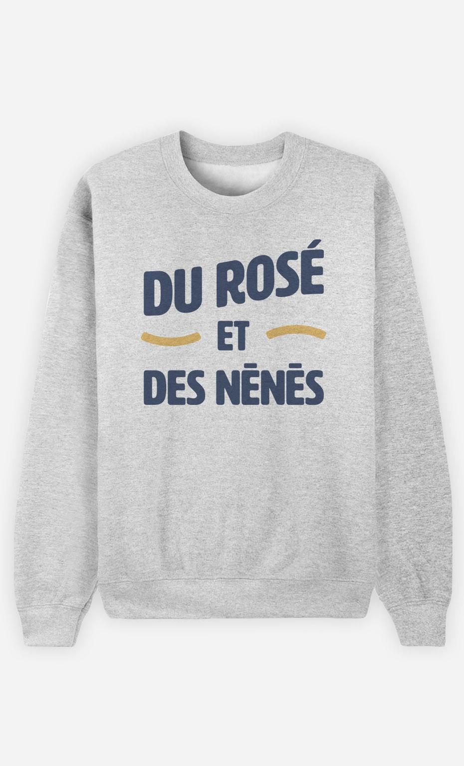 Sweat Du Rosé et des Nénés