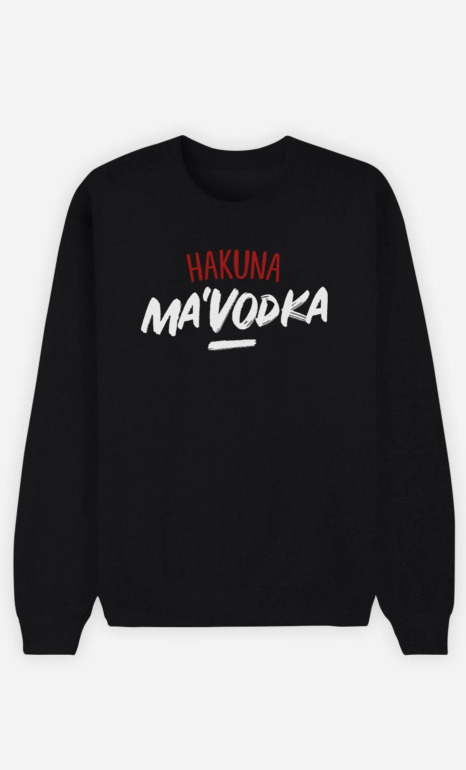 Sweat Noir Hakuna ma Vodka