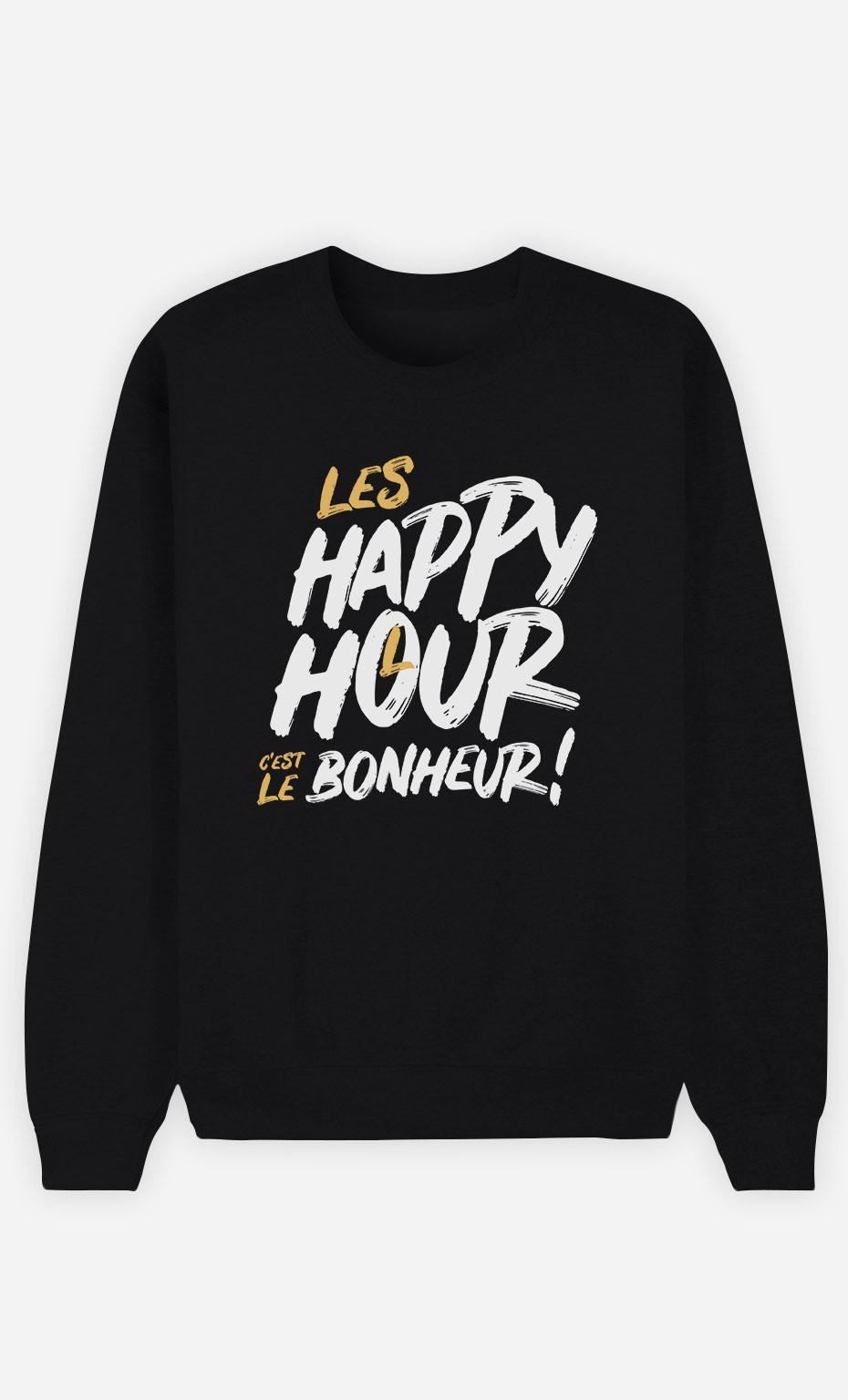 Sweat Noir Happy Hour Bonheur