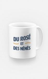 Mug Du Rosé et des Nénés