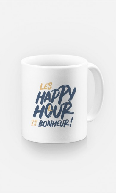 Mug Happy Hour Bonheur