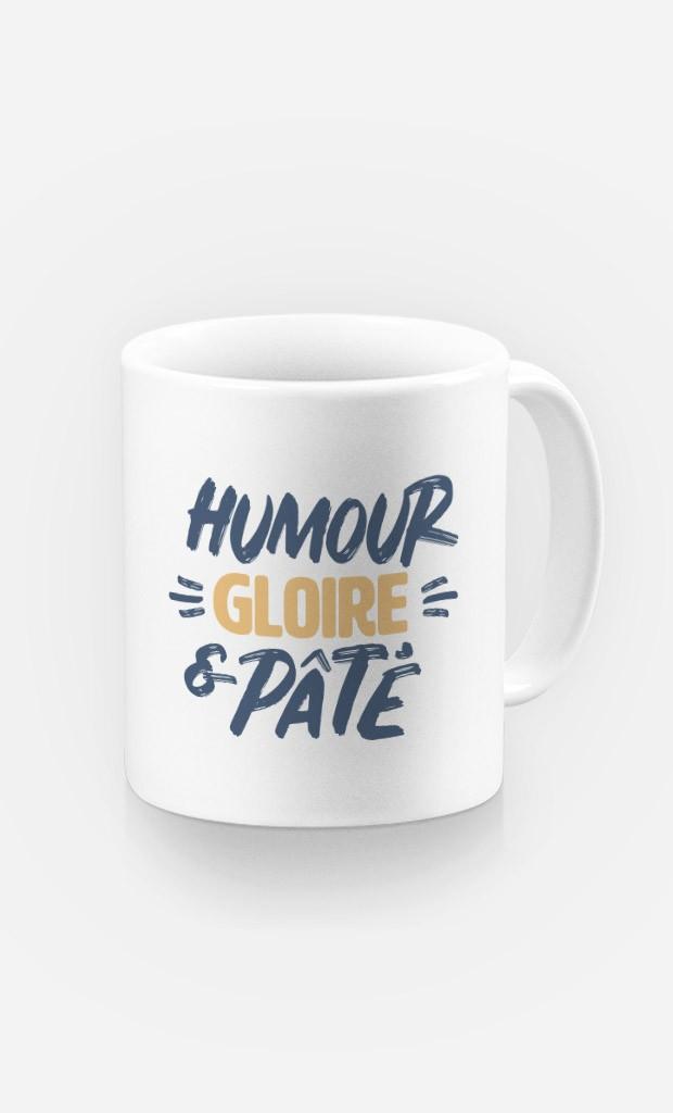 Mug Humour Gloire et Pâté