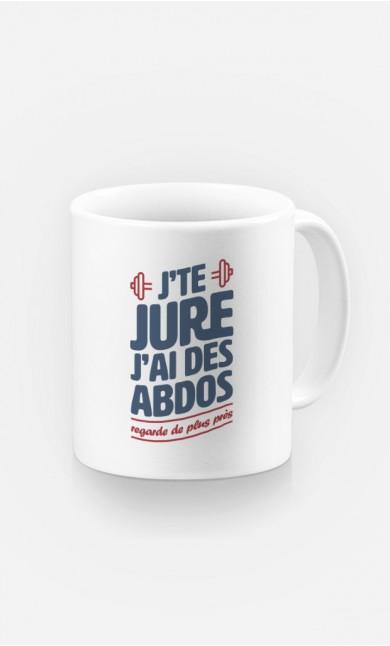 Mug J'te jure J'ai des Abdos