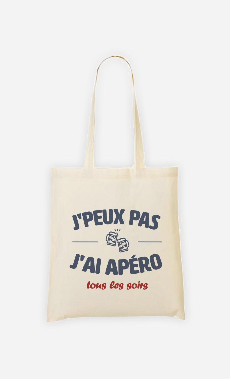 Tote Bag Apéro Tous les Soirs