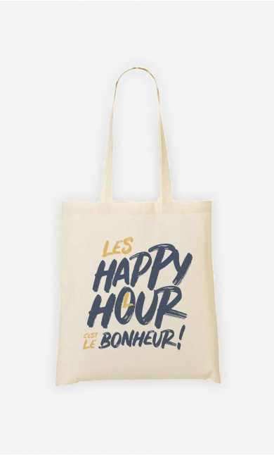 Tote Bag Happy Hour Bonheur