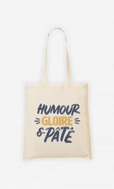 Tote Bag Humour Gloire et Pâté
