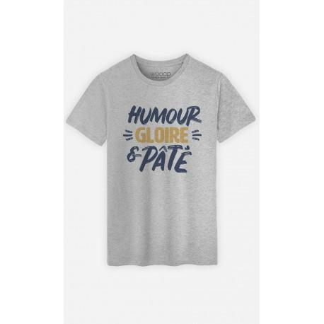 Gloire Shirt Pâté Humour Homme Et Original Wooop T v0wyONPmn8