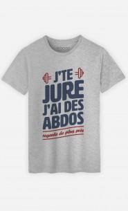 T-Shirt J'te jure J'ai des Abdos