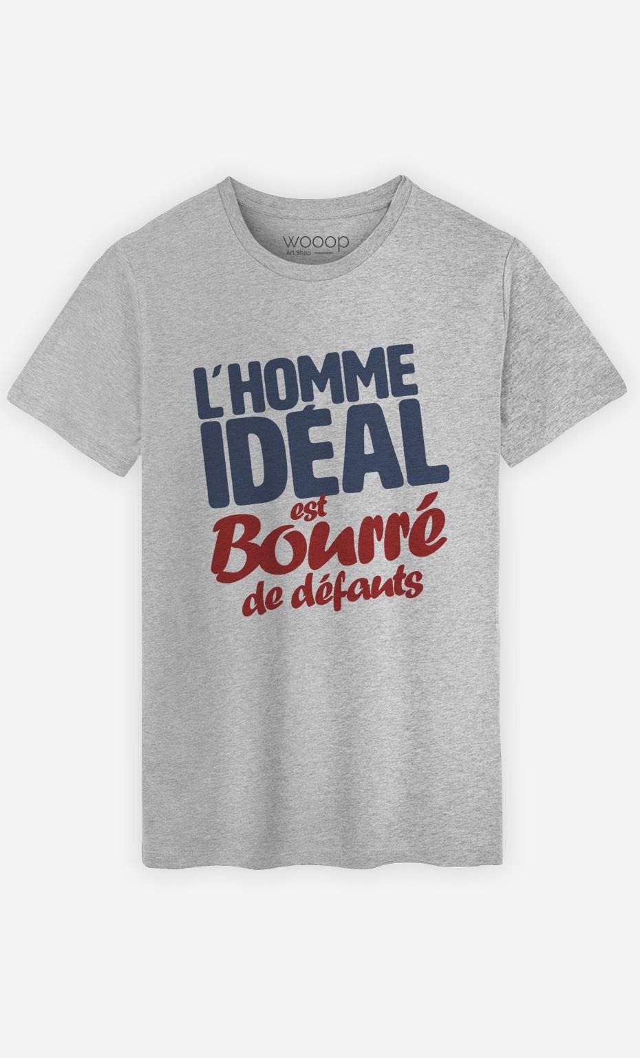 e9741ee9a7a0f T-Shirt Homme L'Homme Idéal original - Wooop