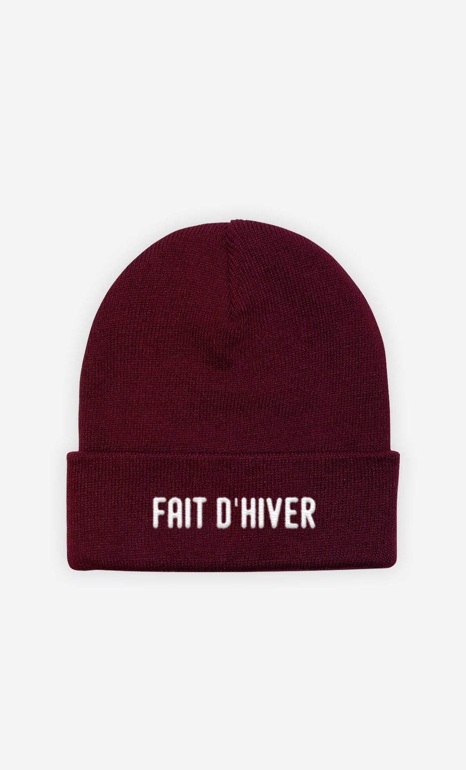 Bonnet Fait d'Hiver