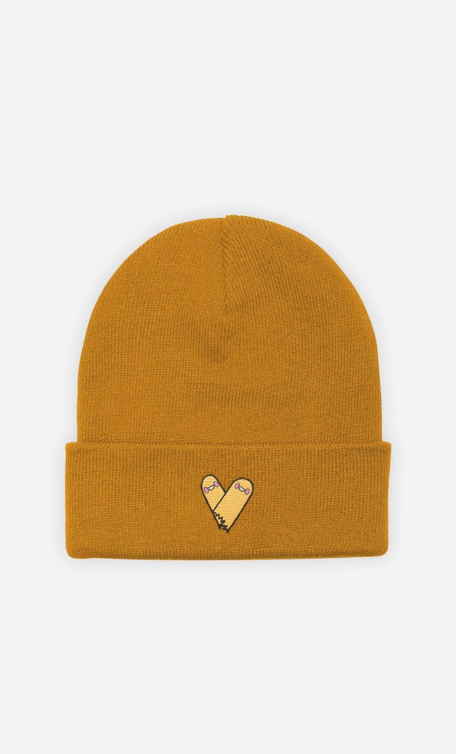 Bonnet Broken Skate Heart