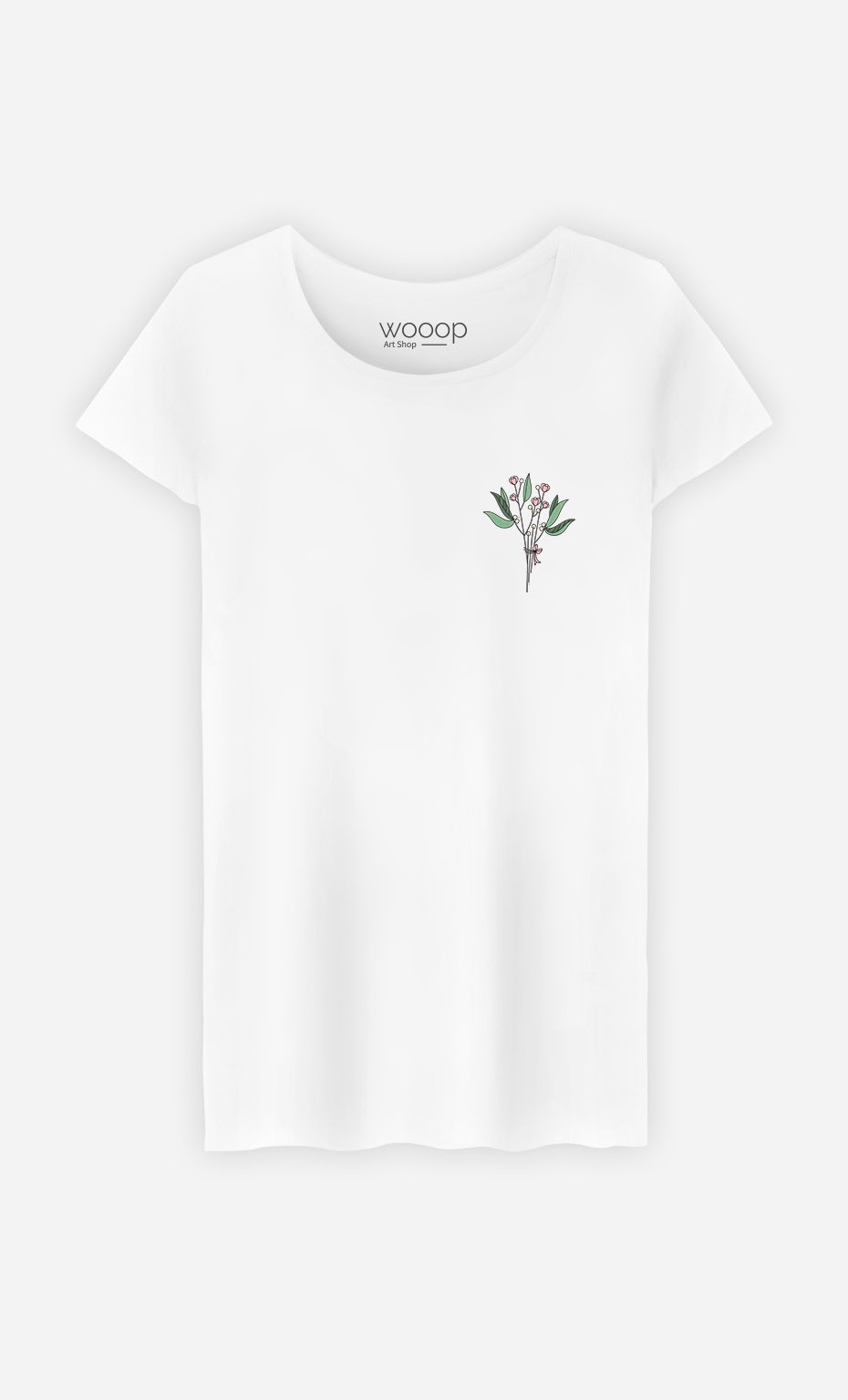 T-Shirt Bouquet - brodé
