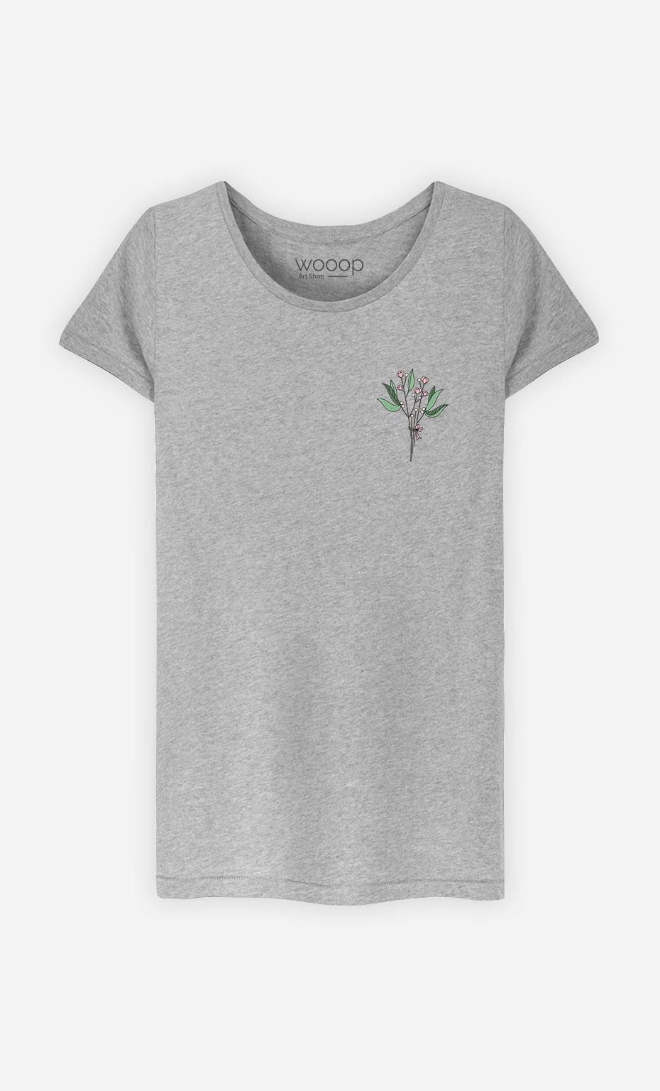 T-Shirt Bouquet - brodé