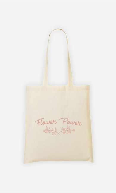 Tote Bag Flower Power