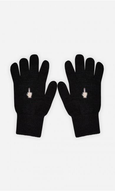 Gants Middle Finger