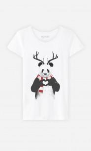 T-Shirt Xmas Panda