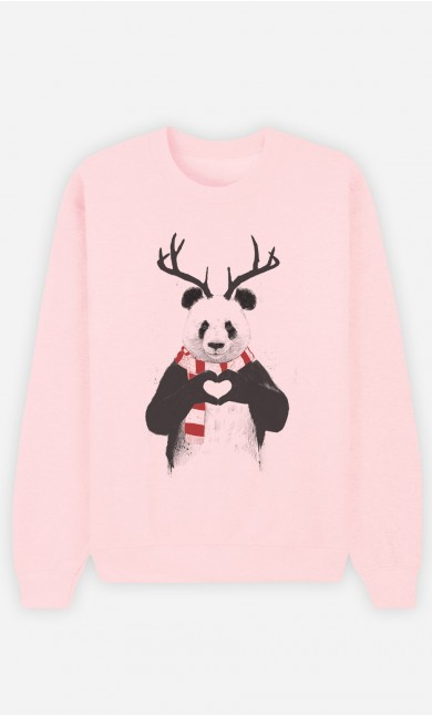 Sweat Rose Xmas Panda