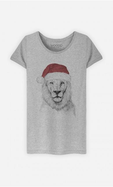 T-Shirt Santa Lion