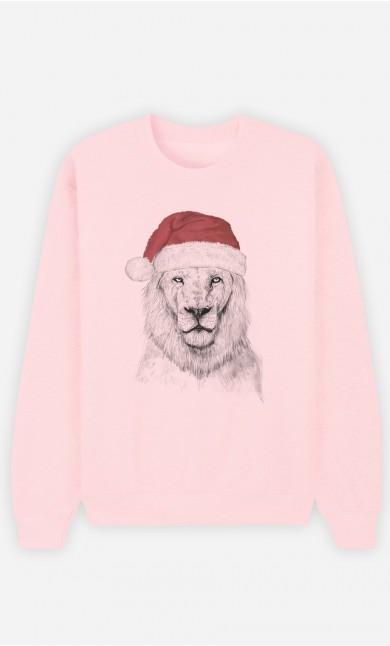 Sweat Rose Santa Lion