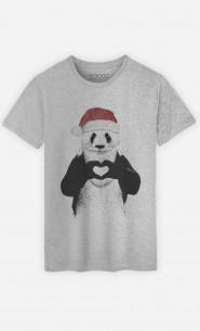 T-Shirt Santa Panda