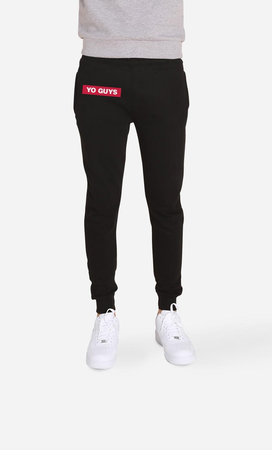 Jogging Noir Yo Guys
